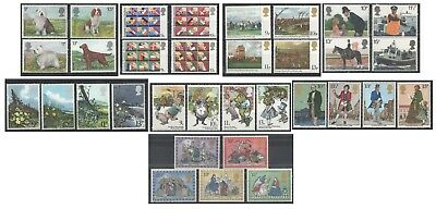 1979 Royal Mail Commemorative Sets MNH. Sold separately & as full year set.
