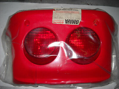 Yamaha Coprifanale Posteriore Rosso Crz 50 1991 - 1995 3Wnh472100P0
