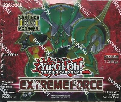 Yu Gi Oh! - Extreme Force Display mit 24 Booster Neu & OVP