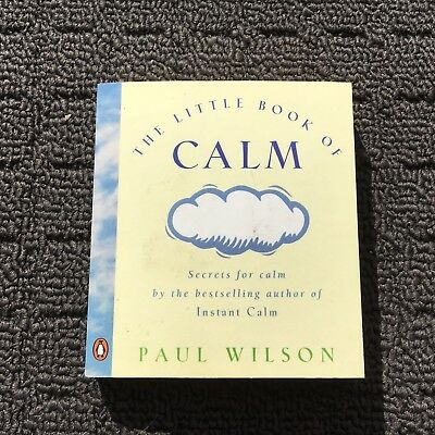 THE LITTLE BOOK OF CALM Sweet Quotations Miniature Gift Book (1996) Paperback
