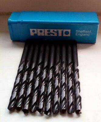 Presto HSS drills box of 10 (1-7mm)