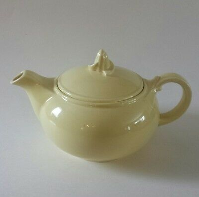 Taylor Smith & Taylor Lu Ray Pastels Teapot  T S & T Lu-Ray YELLOW