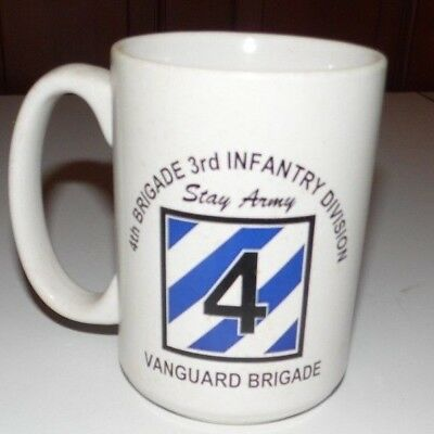 4th Brigade 3rd Infantry Division Stay Army Vanguard Brigade Baghdad Iraq Mug