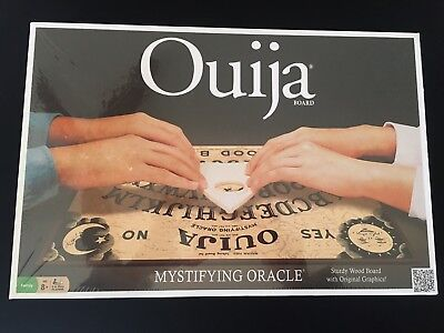 Ouija Board Game Wood Set Mystifying Oracle Parker Brothers Ghost New Unopened