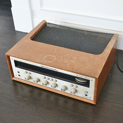 Vintage Marantz Model 2230 Stereophonic AM FM Stereo Receiver in Wood Case
