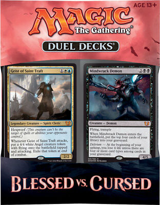 Duel Deck: Blessed vs. Cursed - OVP Sealed - En