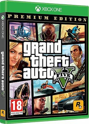 Gta 5 - Premium Edition Xbox One Italiano Gioco Grand Theft Auto Eu Gta V Nuovo