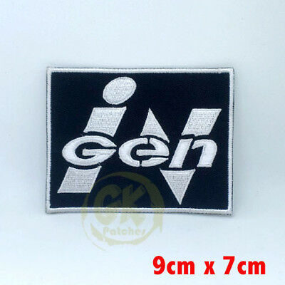 Ingen Jurassic Park Movie Iron on Sew on Embroidered Patch Uk Seller