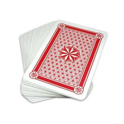 Super Jumbo Plastic Coated Playing Cards - 10.25 x 14.5 inch