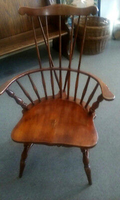 Heywood Wakefield , Comb Back, Windsor Chair