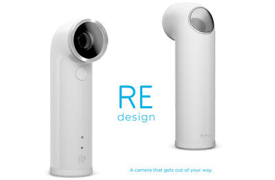 NEW HTC RE 16.0MP 1080P Ultra-Wide Angle Lens Waterproof Digital Camera (White)