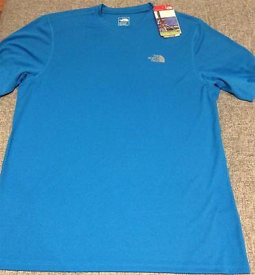 Hyper Blue Large The North Face Flashdry T-shirt Mens Running Training Top
