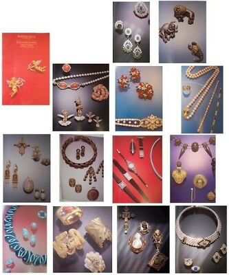 Sothebys IMPORTANT JEWELRY catalog NY December 1989 #5947 Full Color Thick