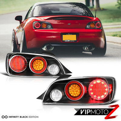 00-03 Honda S2000 S2K AP1 Full LED Tail Brake Light Signal Lamp [AP2 Style] L+R