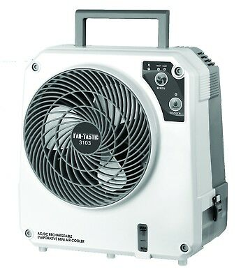 FanTastic Portable IceOCube 12V 240V Maxi Evaporative Cooler Fan Rechargeable