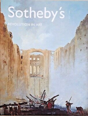Sotheby's REVOLUTION IN ART Paintings Drawings Sculpture 18-19th C 2002 NY