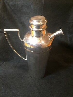 Antique Mappin & Webb Silver Plate 3 Pint Cocktail Shaker - Art Deco 1920-1930's
