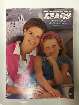 Sears Vintage 1993 Spring/Summer Annual Catalog