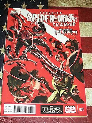 Superior Spider-Man Team-Up  Arms Of The Octopus Part 3Vf/nm Condition