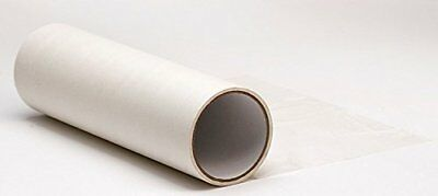 "Clear Paper 12"" x 30' High Tack Transfer Tape Roll Backing Paper for Vinyl Tape"