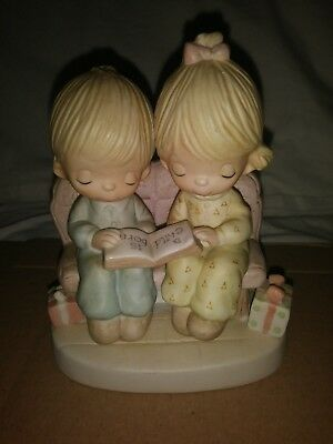 porcelane figurines by jonathan & David  enesco imports .precious moments.1978
