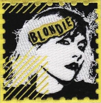 Blondie Embroidered Patch B017P Bowie Iggy Pop Talking Heads Psychic TV Ramones