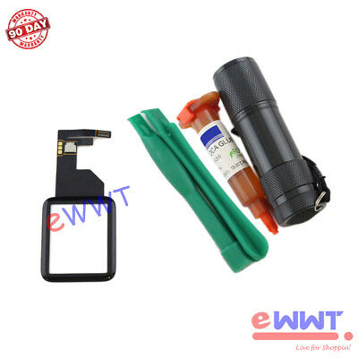 Replacement LCD Touch Screen Glass + UV Glue for Apple Watch 42mm iWatch ZJLT063