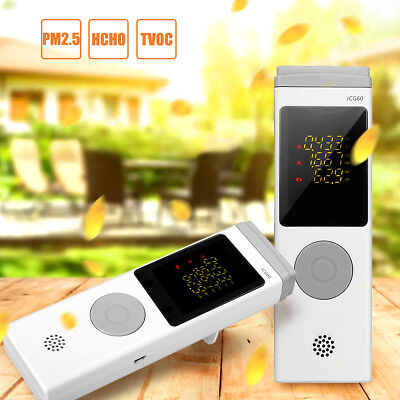 Portable Multifunctional Air Quality Pollution Monitor Formaldehyde Detector AU