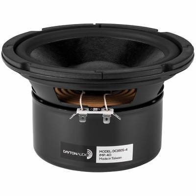 "Dayton Audio DC160S-4 6-1/2"" Classic Shielded Woofer 4 Ohm"