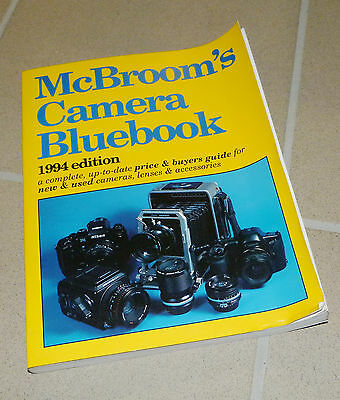 McBroom's Camera Bluebook (Mc Broom's Camera Bluebook Price Guide in english