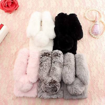 Winter Warm Crystal Fluffy Hair Phone Back Cover Case For LG G5 G6 K8 K10 2017