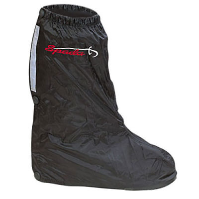 Spada Overboots Motorcycle Motorbike Waterproof Over Boots - Black One Size