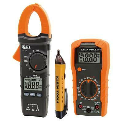 Klein Tools Meter and Tester Kit (3-Piece Set) MM300, CL110 & NCVT-1 - NEW