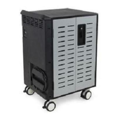 Ergotron Zip40 Charging And Management Cart For Transporting Securing Protecting