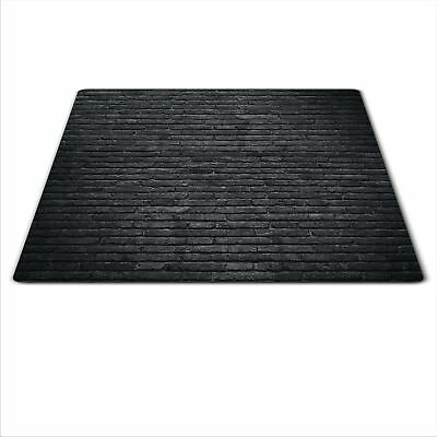 Glass Chopping Board Induction Ceramic Hob Cover Worktop Saver 60x52cm