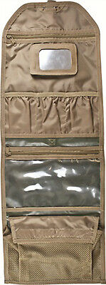 MILITARY Waterproof WAS BAG, with Unbreakable Mirror CAMPING HIKING BUSH CRAFT