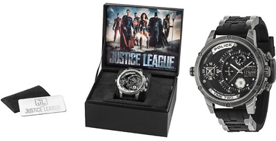 Police limited edition Justice league watch RRP€310