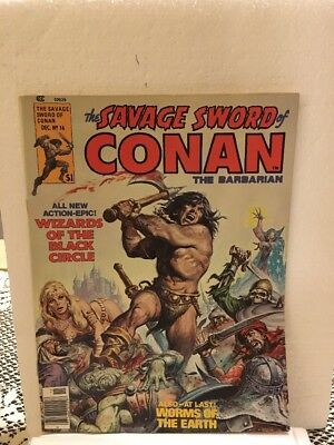 the savage sword of conan No 16 In VF/NM, 1976