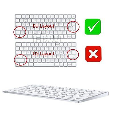 Cover Film Apple Magic Skin Protector Layout Ultra Thin Clear TPU Keyboard NEW