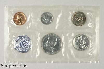 1963 Proof Set ~ NO ENVELOPE ~ US Mint Silver Coin Lot SKU-1172