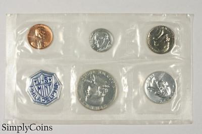 1963 Proof Set ~ NO ENVELOPE ~ US Mint Silver Coin Lot SKU-1176