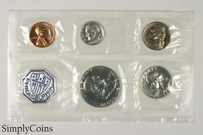 1963 Proof Set ~ NO ENVELOPE ~ US Mint Silver Coin Lot SKU-1173