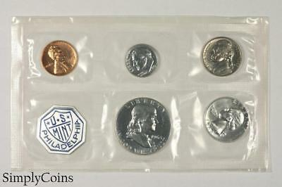 1963 Proof Set ~ NO ENVELOPE ~ US Mint Silver Coin Lot SKU-1168