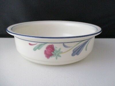"""Lenox Poppies On Blue  Cereal Bowl 6 1/4"""" X 1 7/8"""" -0803E"""