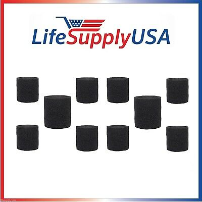10 Pack Foam Sleeve Filters fit Shop Vac 90585, 9058500, 905-85, Type R + most