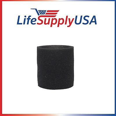 Foam Sleeve Wet Dry Filter fits ShopVac 90585 9058562 Type R VacMaster Genie