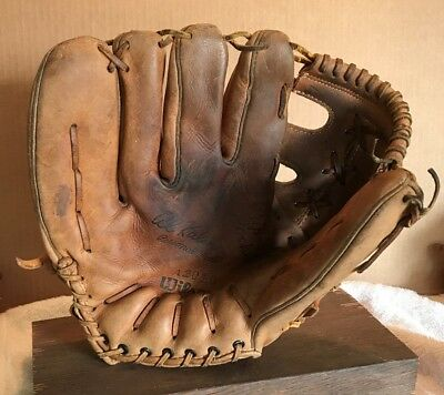 Al Kaline Rawlings Personal Model Usa Made Vintage Baseball Glove