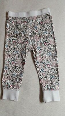 Lovely Baby Girls Floral Leggings (12-18 Months) - By Next