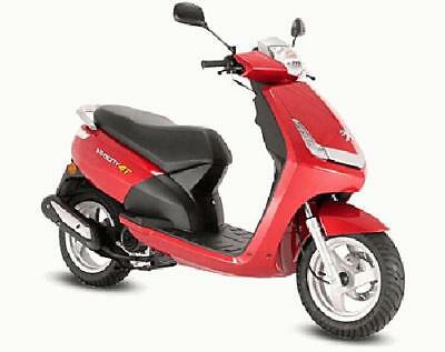 Peuget New Vivacity 2 50 4t 2011 rosso
