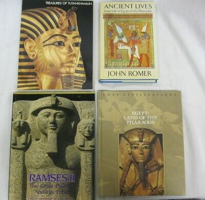 Ancient Lives Daily Lives in Egypt of the Pharaohs, Ramses II 4 book lot